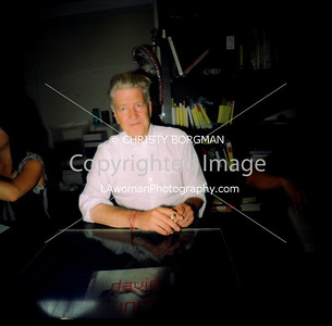 David Lynch at Book Soup for the signing of his book, Dark Splendor.