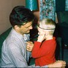 '58-4-Dr  Glenn checking his uncle, Bill