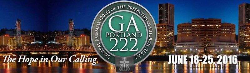 222nd General Assembly, 2016