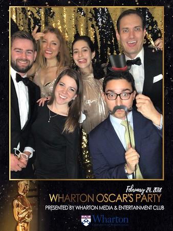 2.24.18 Wharton Oscar's Party