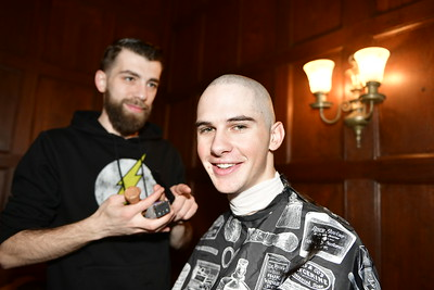 St. Baldrick's Head Shaving 2019
