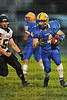 2nd play of the game, #4 of Sandburg with a 78 yard touchdown run.