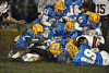 8 Sandburg players in on the tackle