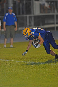 #23 touchdown, crossing the goal line