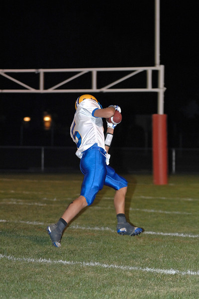 touchdown catch to #5 from #13
