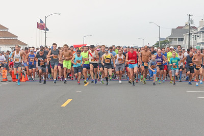 The 2019 Bradley Beach 5k in Bradley Beach, NJ on 8/17/19. [DANIELLA HEMINGHAUS]