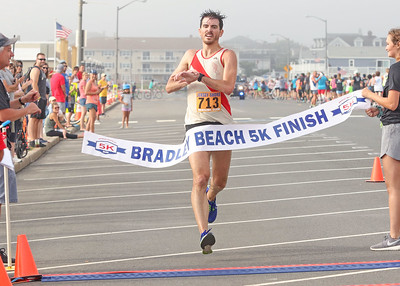 Sean Swift, from Cranford.- 1RST place overall The 2019 Bradley Beach 5k in Bradley Beach, NJ on 8/17/19. [DANIELLA HEMINGHAUS]
