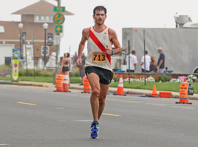 Sean Swift, from Cranford. The 2019 Bradley Beach 5k in Bradley Beach, NJ on 8/17/19. [DANIELLA HEMINGHAUS]
