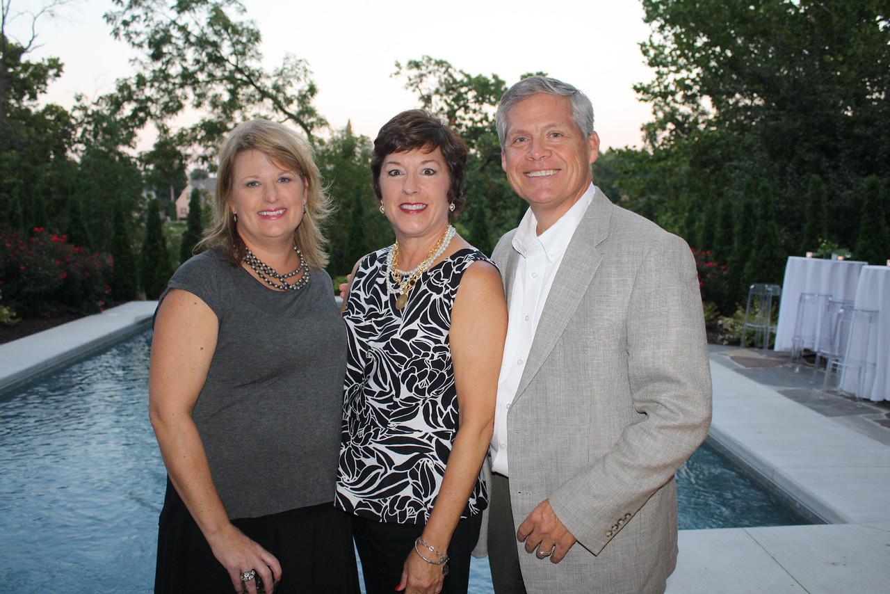 Jennifer Apolskis, Susan Todd, Stu Todd