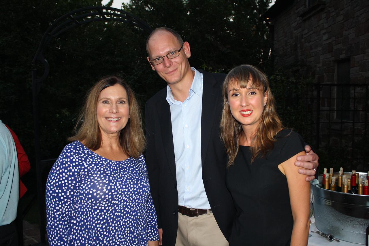 Jenny Grieser, George Hamilton, Sara Burningham