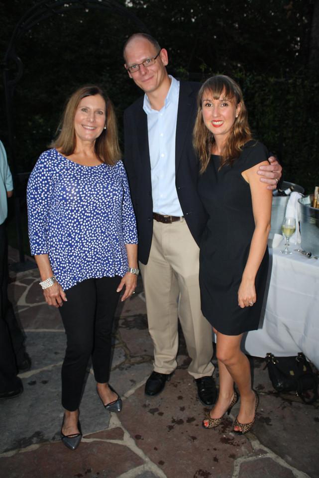Jenny Grieser, George Hamilton, Sara Burningham 1