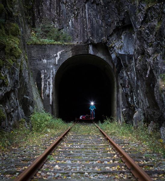 Lys i tunnelen