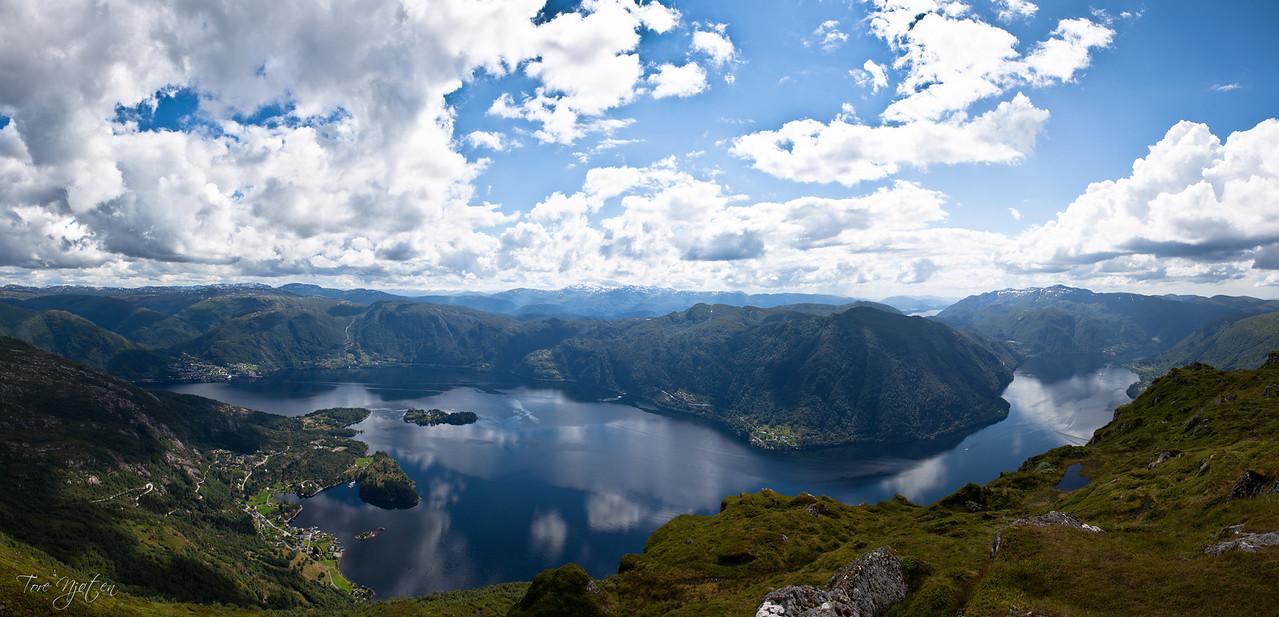 Bruviksnipa, 822 moh. ( satt sammen av 9).