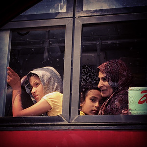 Family Commuting | 24 Hour Project | Cairo 7th April 2018