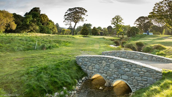 Photo of the 8th hole at Royal Wellington Golf Club immediately prior to the hosting of the Asia-Pacific Amateur Championship tournament 2017 held in Heretaunga, Upper Hutt, New Zealand in late October 2017. Copyright John Mathews 2017.   www.megasportmedia.co.nz
