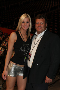 STARLA WITH XFC PROMOTER JOHN PRISCO GREAT SHOW JOHN. JON P IS THE HOTTEST PROMOTER IN MMA HIS SHOWS OUR OVER THE TOP OR MAYNE IT IS ROCKY TOP TENN. THE NEXT ON LIVE NATIOPNALTV HD NET