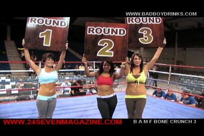 FIGHT 6 ISKA KICK BOXING BONE CRUNCH 3  B.A.M.F.