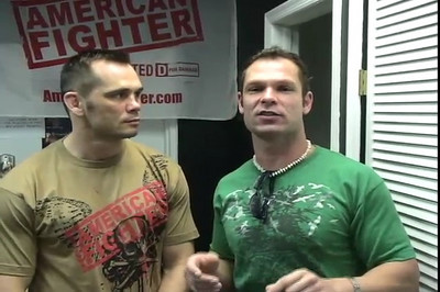 Nate Johnson Interviews UFC American Fighter Rich Franklin at THE FIGHTER WAREHOUSE