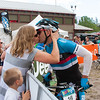 "Coleman later said, ""hmm, I wouldn't have kissed me."". <br /> <br /> Congratulations Coleman on your epic season of mountain bike racing, from the Cape Epic in South Africa, to the 24 HOA in Canmore."