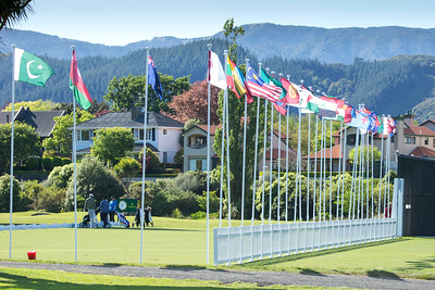 Practice Day 2 of the Asia-Pacific Amateur Championship tournament 2017 held at Royal Wellington Golf Club, in Heretaunga, Upper Hutt, New Zealand from 26 - 29 October 2017. Copyright John Mathews 2017.   www.megasportmedia.co.nz