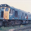 25080 sits in Toton Scrapline on 13th July 1986