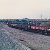 With 45074, 25032 sits amongst 58s at the north end of Toton TMD on 13th July 1986