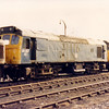 25257 in the scrapline at Goole on 29th August 1986