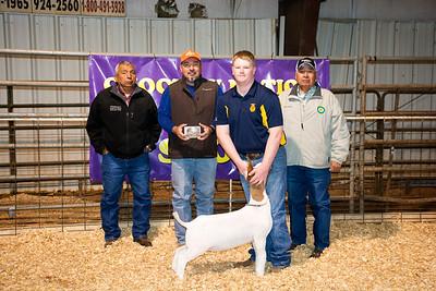 Hunter Mann, Sulphur, Division 1 Goat