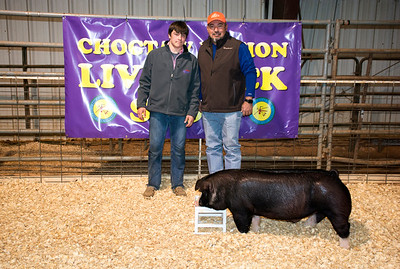 Colton Hager of Dibble, Breed Champion Poland