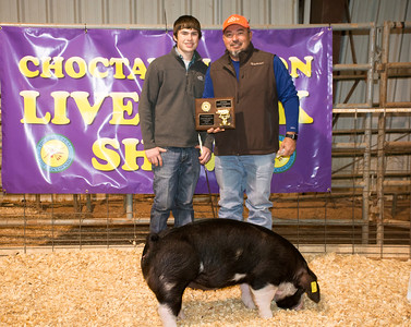 Devin Emert, Bennington, Reserve Breed Champion Poland