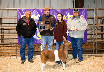 Jaycee Watkins, Allen FFA, Grand Champion Doe