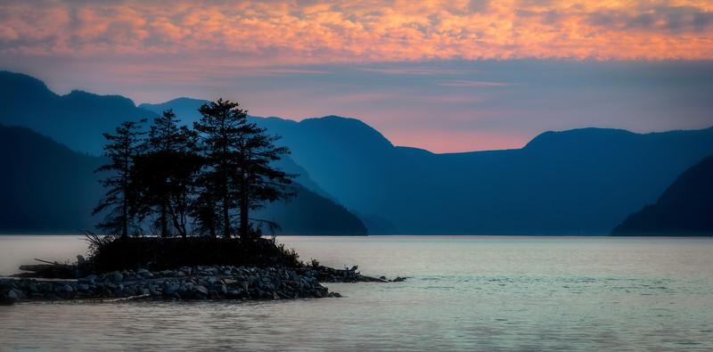 Porteau Cove Sunset