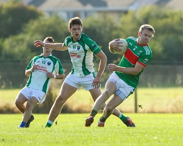 Loughmore Castleiney's Noel McGrath against Cahir's Niall McKenna and Tommy McDonagh