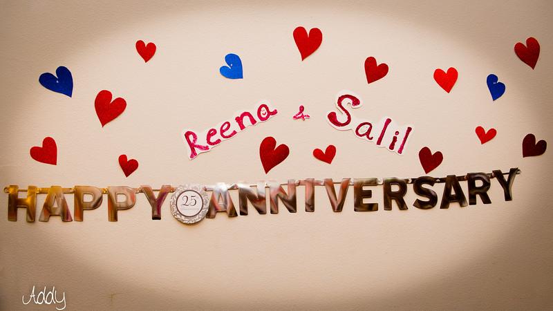 25th Salil and Reena