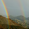 Scenic Landscape: HDR Rainbow in the Malibu Canyons