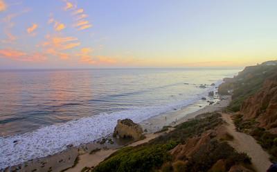 HDR Socal Malibu Landscapes: Matador Beach