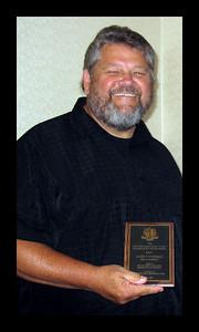 Accepting Broadrick Allen Honors Award - 2008