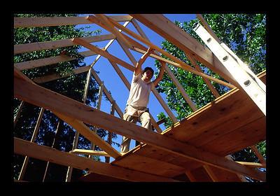 Building the Palenque Studio - 1977