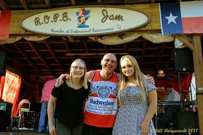 Hannah Gaszo, Roy Powell, Krissy Feniak - Horse Hill ROPE 2017 550