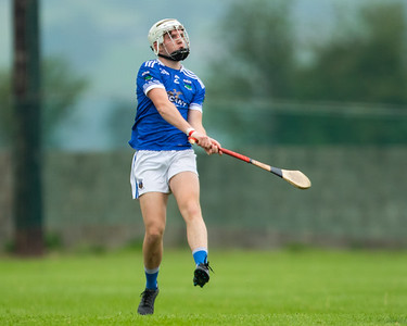 Ballina's Conor Power clears his lines during the 'FBD Insurance' Seamus O'Riain Cup round 1 in Borrisoleigh.