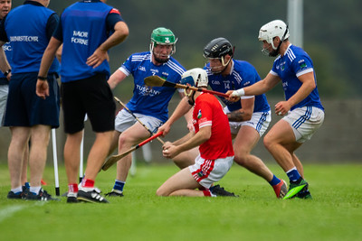 Player in action during the 'FBD Insurance' Seamus O'Riain Cup round 1 in Borrisoleigh.