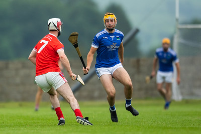 Ballina's Mike Grace and Gortnahoe Glengoole's Colm Guilfoyle during the 'FBD Insurance' Seamus O'Riain Cup round 1 in Borrisoleigh.