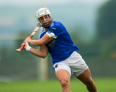 Ballina's Dan Finnerty shoots for a point during the 'FBD Insurance' Seamus O'Riain Cup round 1 in Borrisoleigh.