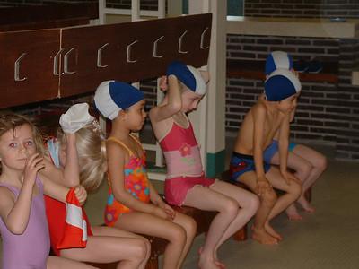 zwemmen 1ste en 2de leerjaar