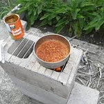 "ROCKET STOVES: A 4 or 6 Block ""DUAL BURNER"" Rocket Stove - http://youtu.be/QSKj3xYe3T8 16-24 single red bricks - Rocket Stove - http://youtu.be/fz2ssyGfg58  Ms City Girl here asked Ginnee (who shared the video with me) if this could be used indoors with a cement or tile floor & for other clueless people like me, here's her answer: ""Not indoors, but you could have it on a patio, or in a carport.  Indoors would require a chimney, a different set-up to ventilate.  Safety first..."""