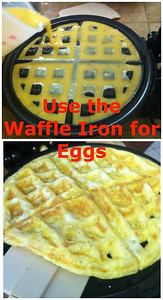 You Can Use the Waffle Iron for Eggs