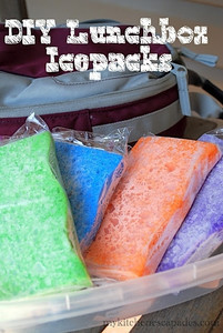 Use Frozen Sponges for Cheap Lunchbox Ice Packs