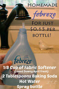 """How To Make """"Fake"""" (& Natural) Febreeze For Just $0.15 Per Bottle.."""