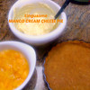 """MANGO CREAM CHEESE PIE!!<br /> <br /> I make this INCREDIBLE """"concoction"""" that I don't really have a """"recipe"""" for - I just create it based on what I'm hungry for, have the $$ for or have available.<br /> <br /> First I put some coconut oil in a pie dish (or whatever size YOU want to make it).<br /> <br /> Then I take a """"package"""" of some sort of cookie (however many you want depending on how thick YOU like it.  I like to use some sort of a coconut, butter cookies or graham cracker) & crush them up (I usually do it in my MagicBullet) & I take a stick of butter & melt it down & mix them together.<br /> SOMETIMES I put that in the oven at 325 or so for about 10-20 minutes (depends on how baked you want it to be).<br /> <br /> Next in a separate bowl I fold in together some cream cheese (I like the container of soften cream cheese which I've left out for a bit so it's softer.  The size again - depends on how THICK with the filling YOU want) & Honey (AGAIN - how sweet do YOU want it to be??).  SOMETIMES I add an egg to help thicken it & if I do I bake it for about 20 minutes (I think).<br /> <br /> Next I cut up a BUNCH of OVERLY RIPE Mangoes (you know - the kind that most people would throw out as there were LOTS of black spots??!!!  To ME, THAT's the phase I LOVE to eat them in as they have an almost candy cane sort of taste!!  Mush up however thick YOU want it to be) & in a bowl I MUSH it up with my hands (I'm a VERY tactile child & LOVE it when it comes squirting out between my fingers - Oh & I LOVE to eat off the mango around the giant seed) & I just glump it onto the crust/mix & put it in the fridge & VUALA!!!!  I've had people that didn't normally like mangoes LOVE LOVE LOVE this LINGUASMO•TongueGasmic concoction!!!! <br /> <br /> Let me know how it worked for you!!!"""