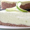 Live Key Lime Pie<br /> <br /> Ingredients (Serves 5)<br /> <br /> Crust<br /> • 2 Cups of Pecans (soaked for 2 hrs)<br /> • ½ Tsp of Ground Nutmeg<br /> • ¼ Tsp of Black Pepper<br /> • ¼ Tsp of Celtic Salt<br /> <br /> Filling<br /> • ½ to 1 Avocado (depending on size)<br /> • ½ Cup of Coconut Water<br /> • Coconut Meat from 1 Coconut<br /> • 4 Tbs of Lemon Juice<br /> • 4 Tbs of Lime Juice<br /> • 1 Vanilla Bean<br /> • ½ Tsp of Celtic Salt<br /> • ¼ Tsp of Stevia or Honey<br /> • 1 Tsp of Psyllium Husk Powder<br /> <br /> Process all crust ingredients in a food processor or blender. Press into a pie plate and chill. Process all filling ingredients in a blender until smooth and creamy. Add psyllium and mix. Pour filling into crust and chill for a few hours. Cut, serve and bliss out!<br /> <br /> (Jasona shared it)